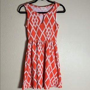 Anthropologie Everly cut out dress